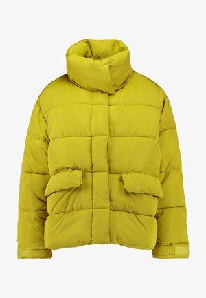 Vinterjakke - yellow