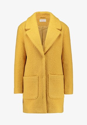 Krátký kabát - mustard