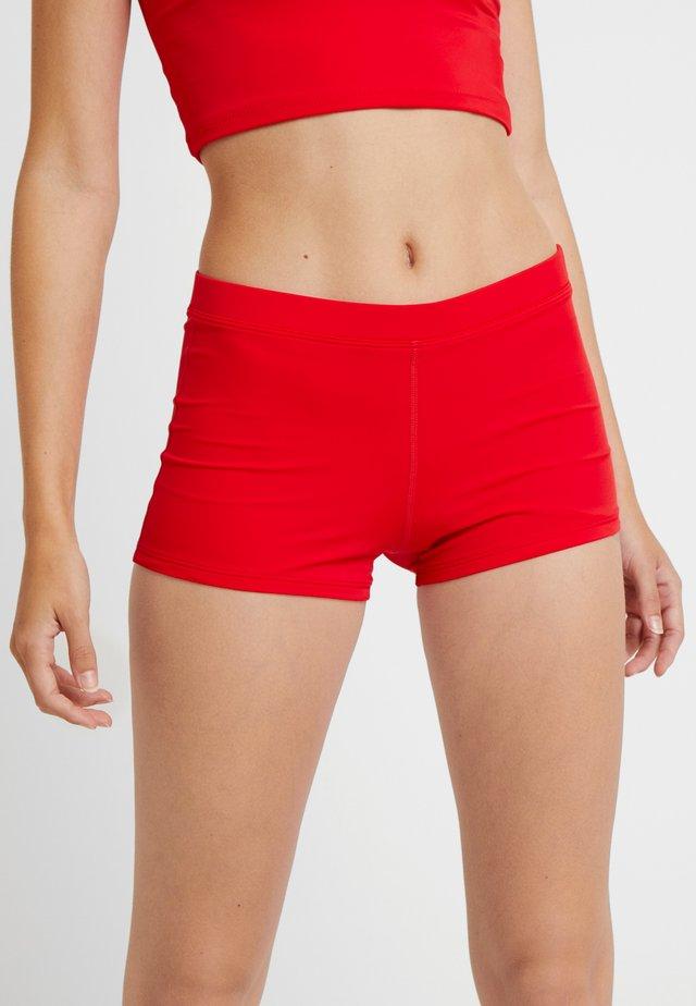 Dół od bikini - red