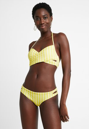 SET - Bikini - yellow/white