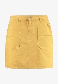 Twintip Plus - Jeansnederdel/ cowboy nederdele - mustard - 4