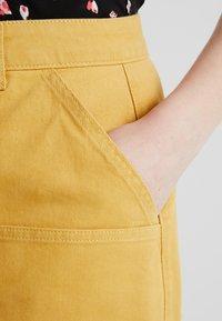 Twintip Plus - Jeansnederdel/ cowboy nederdele - mustard - 3
