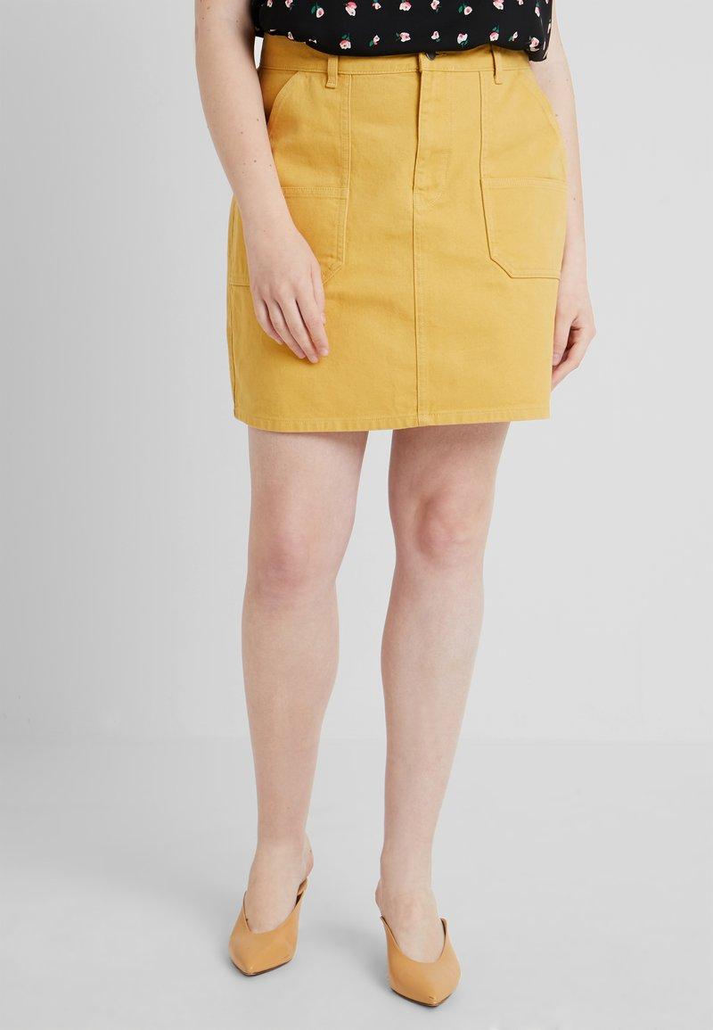 Twintip Plus - Jeansnederdel/ cowboy nederdele - mustard