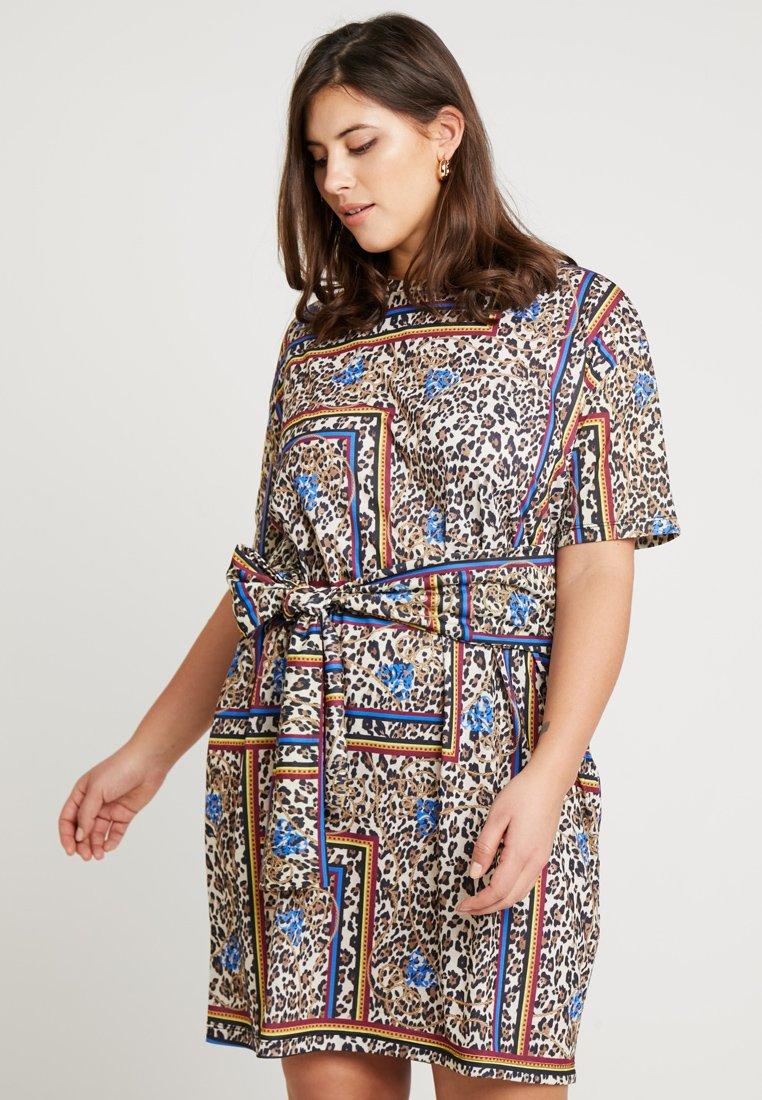 Twintip Plus - Day dress - brown/beige/black