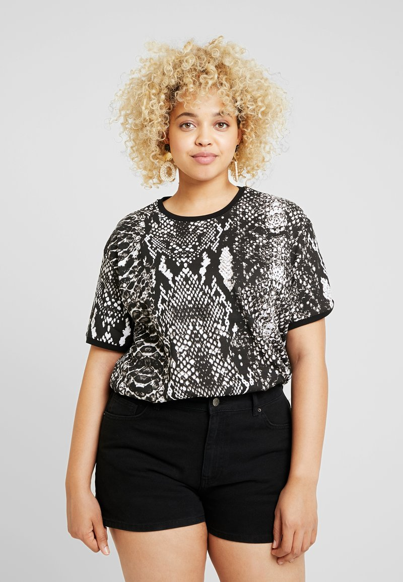 Twintip Plus - Print T-shirt - beige