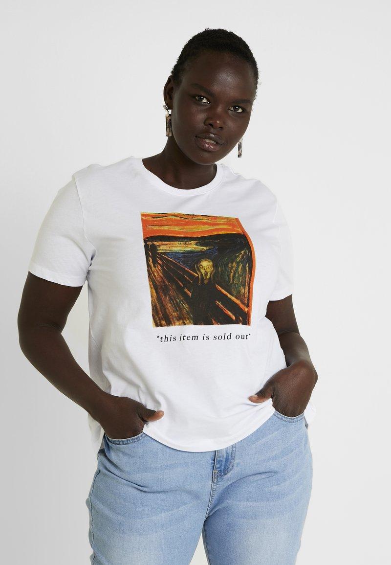 Twintip Plus - T-Shirt print - white