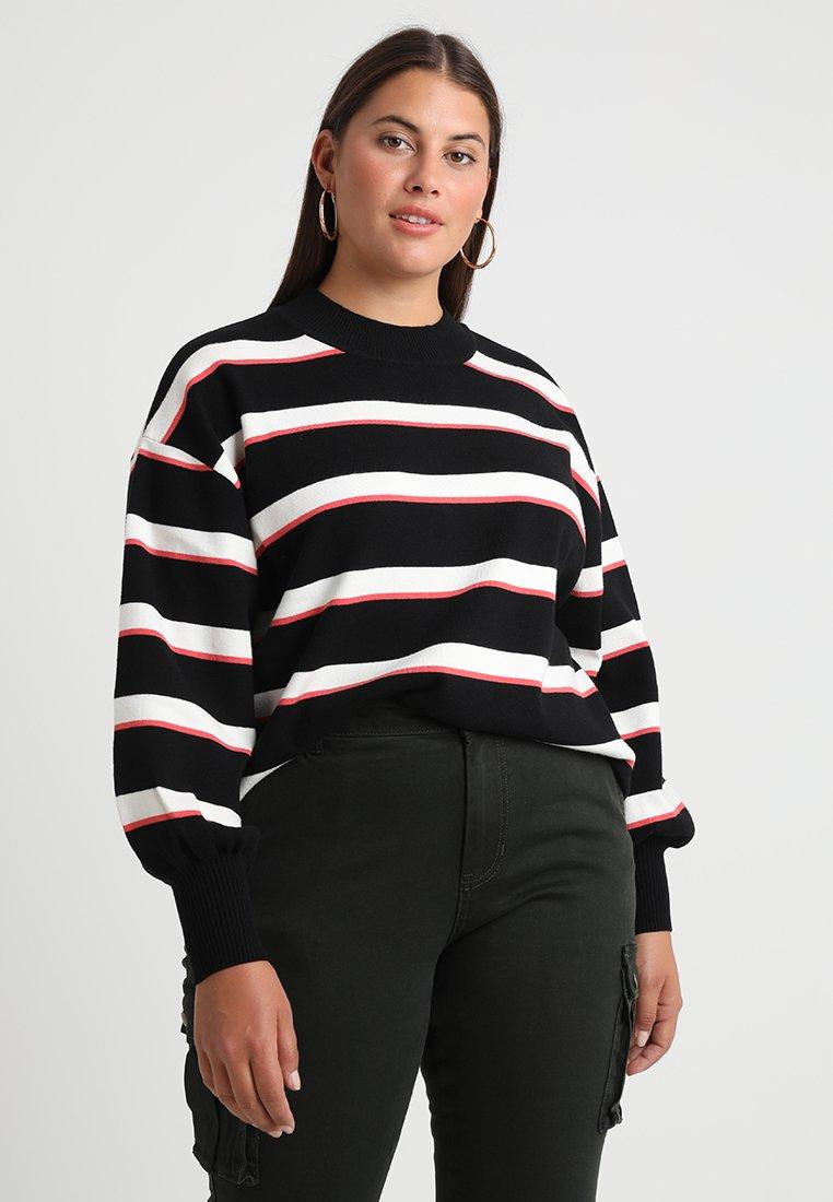 Twintip Plus - Jumper - white/pink/black