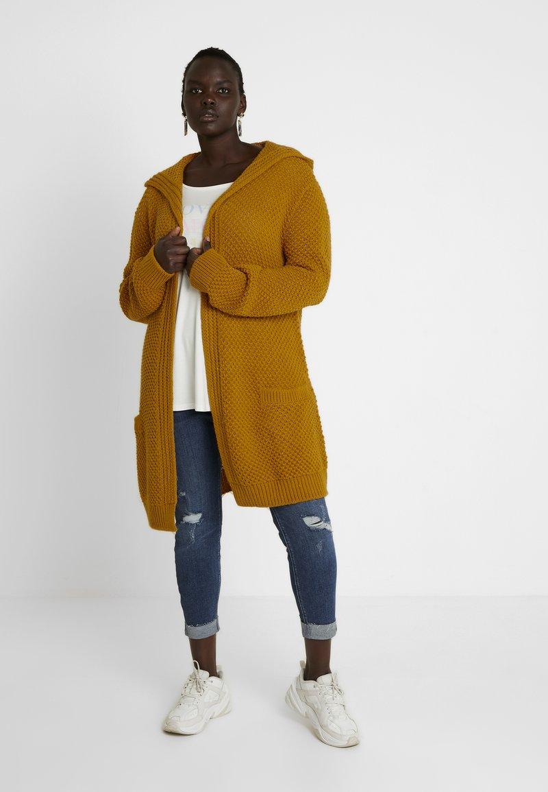 Twintip Plus - Cardigan - ochre