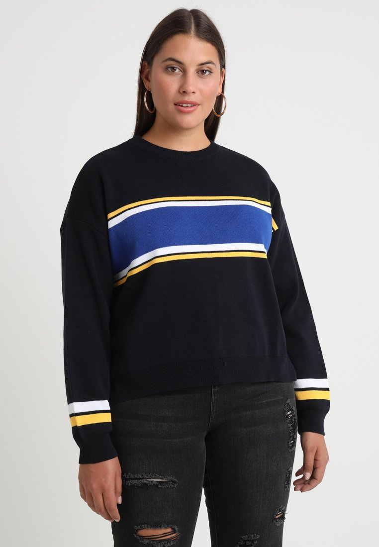 Twintip Plus - Jersey de punto - yellow/dark blue