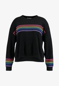 black/multi coloured