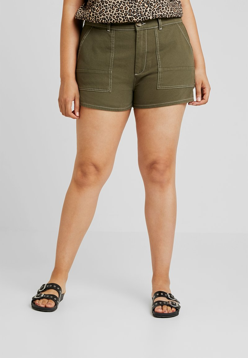 Twintip Plus - Jeans Short / cowboy shorts - khaki