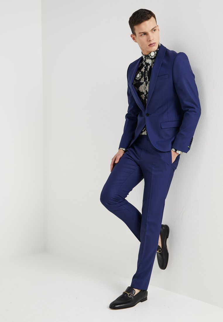 Twisted Tailor - ELLROY SLIM FIT - Dress - new blue