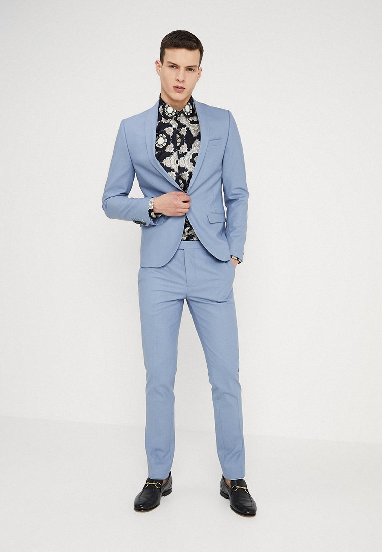 Twisted Tailor - ELLROY SLIM FIT - Suit - infinity blue