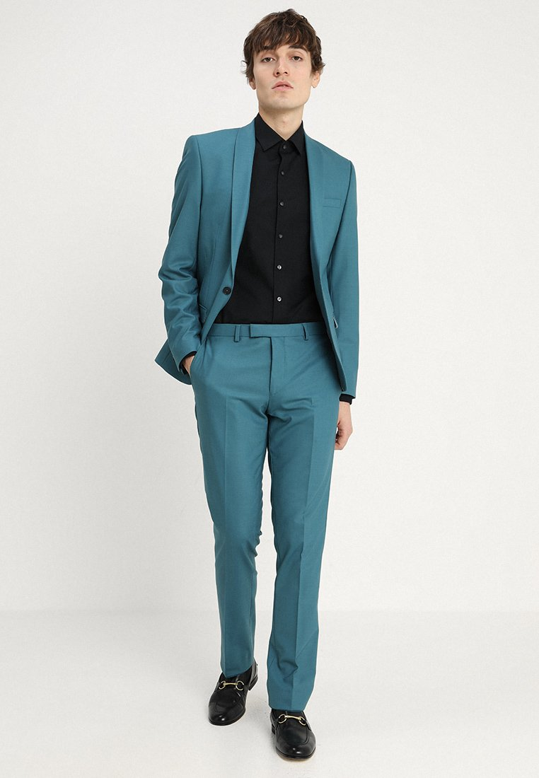 Twisted Tailor - ELLROY SLIM FIT - Suit - indian teal