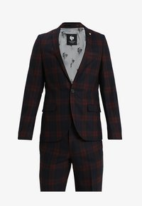 Twisted Tailor - GINGER TARTAN SUIT - Completo - wine - 9