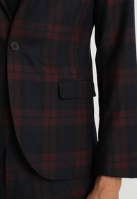 Twisted Tailor - GINGER TARTAN SUIT - Completo - wine - 6