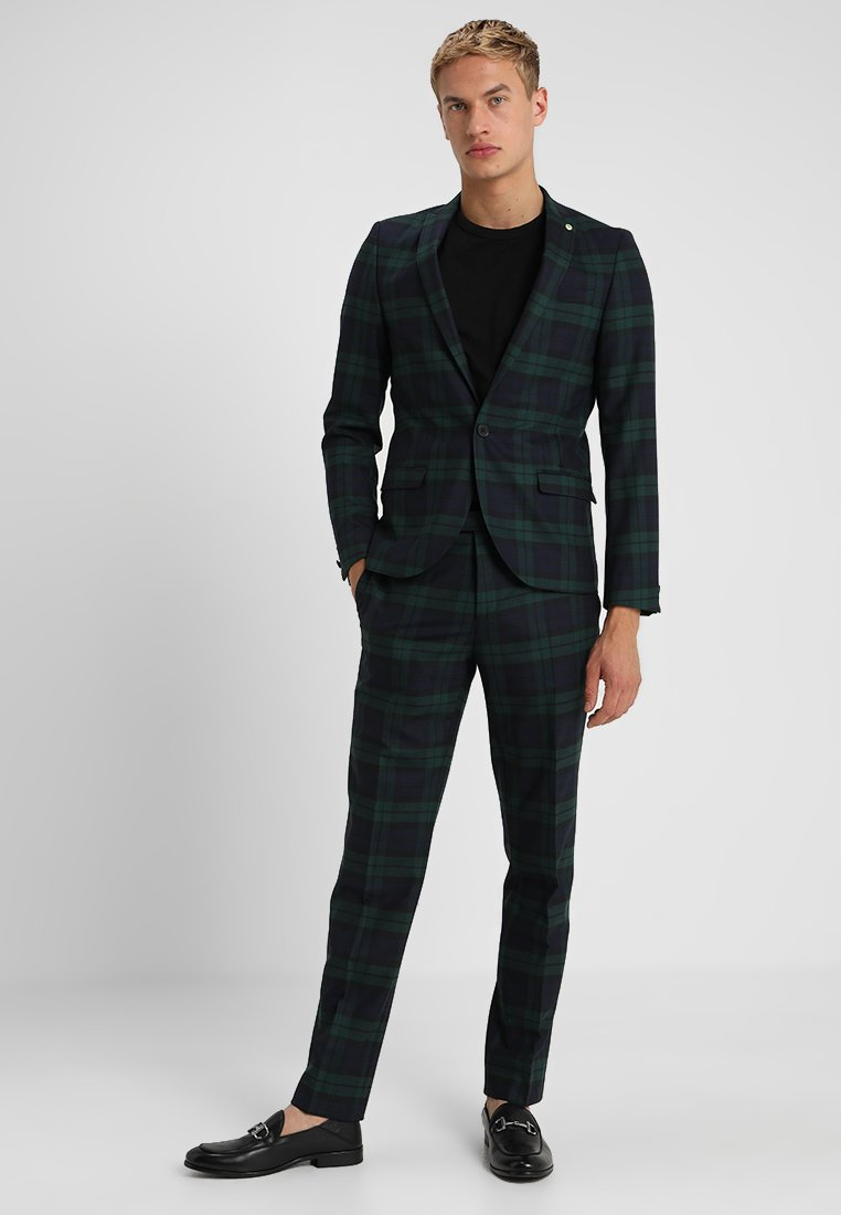 Twisted Tailor - GINGER TARTAN SUIT - Anzug - green