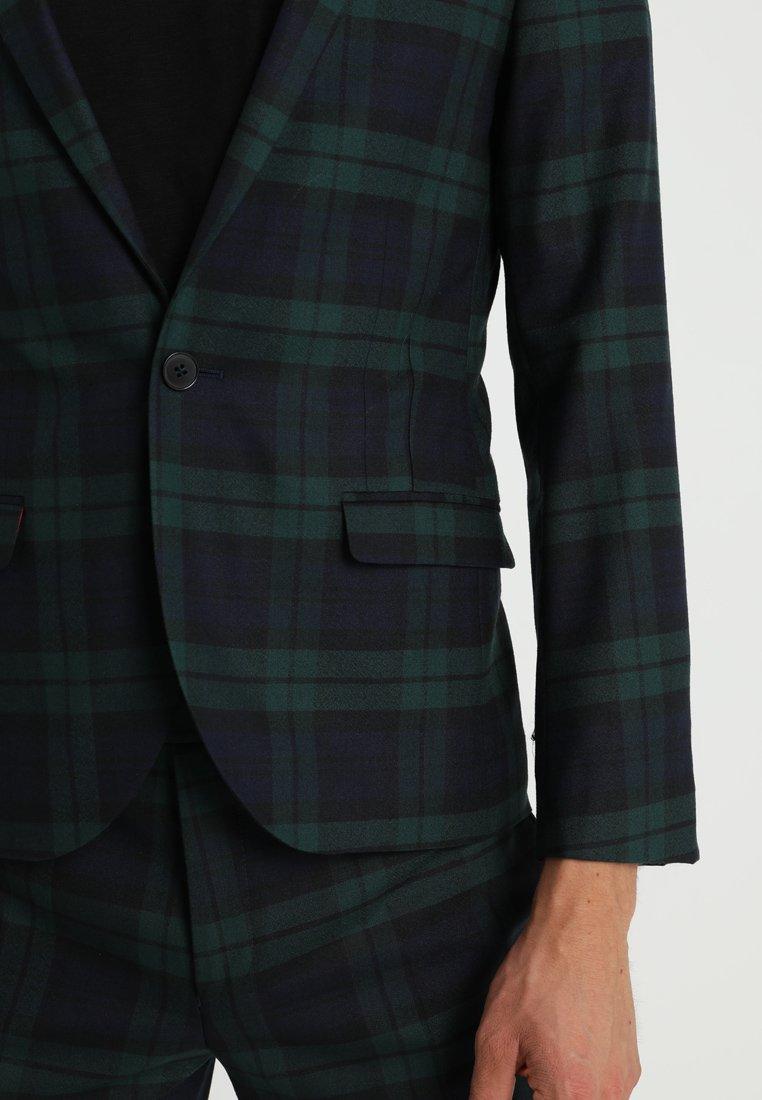 Green Ginger Twisted Tailor SuitCostume Tartan PnwNX80Ok