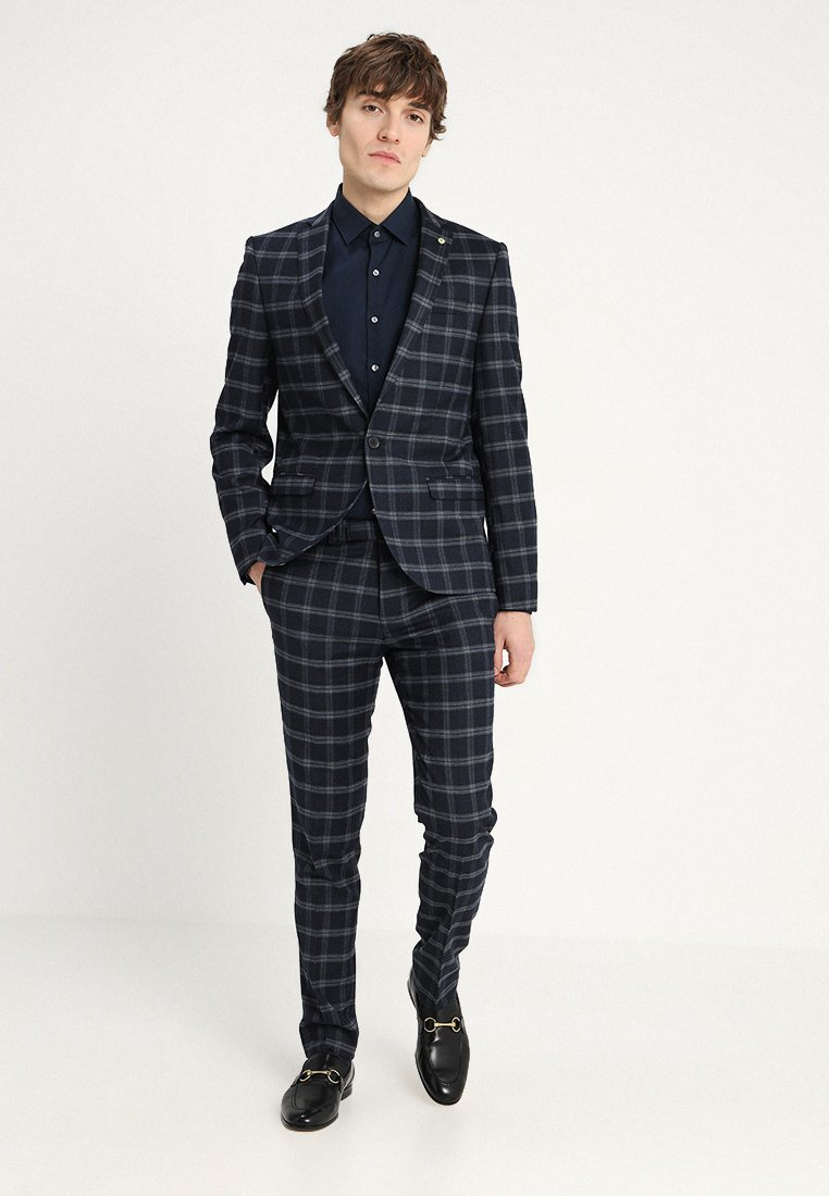 Twisted Tailor - BASILE SUIT SLIM FIT - Suit - navy