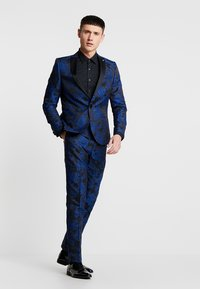 Twisted Tailor - ERSAT SUIT SLIM FIT - Traje - blue - 0