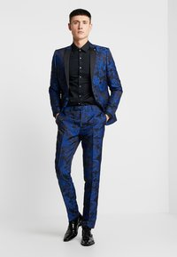 Twisted Tailor - ERSAT SUIT SLIM FIT - Traje - blue - 1