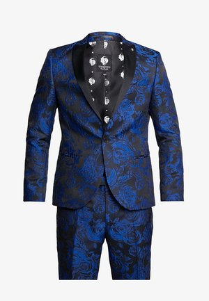 ERSAT SUIT SLIM FIT - Oblek - blue
