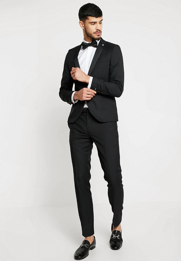 Twisted Tailor - HUNTER TUX SKINNY FIT - Completo - black