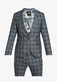 Twisted Tailor - SACRED SUIT SKINNY FIT - Traje - blue - 15