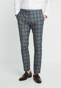 Twisted Tailor - SACRED SUIT SKINNY FIT - Traje - blue - 4