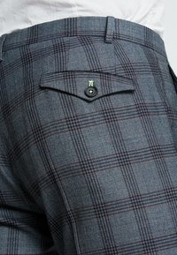 Twisted Tailor - SACRED SUIT SKINNY FIT - Traje - blue - 11