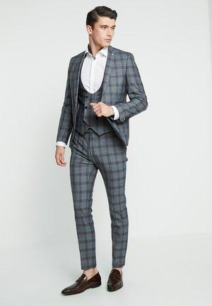 SACRED SUIT SKINNY FIT - Kostym - blue