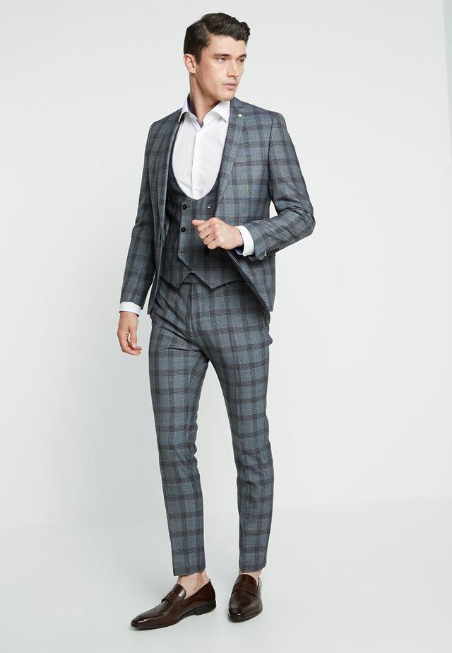 SACRED SUIT SKINNY FIT - Suit - blue