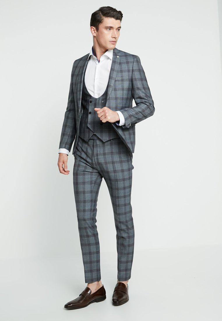 Twisted Tailor - SACRED SUIT SKINNY FIT - Jakkesæt - blue