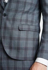 Twisted Tailor - SACRED SUIT SKINNY FIT - Traje - blue - 9