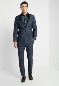 Twisted Tailor - ROOSICK SUIT SKINNY FIT - Oblek - navy - 1