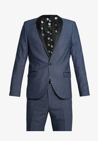 Twisted Tailor - ROOSICK SUIT SKINNY FIT - Oblek - navy - 11