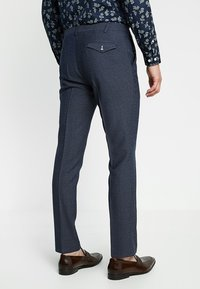 Twisted Tailor - ROOSICK SUIT SKINNY FIT - Oblek - navy - 5