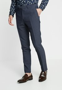 Twisted Tailor - ROOSICK SUIT SKINNY FIT - Oblek - navy - 4