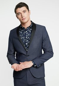 Twisted Tailor - ROOSICK SUIT SKINNY FIT - Oblek - navy - 2