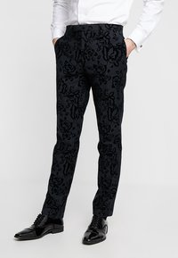 Twisted Tailor - VICTORY SUIT  - Oblek - charcoal - 4