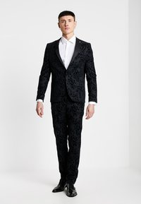 Twisted Tailor - VICTORY SUIT  - Oblek - charcoal - 1