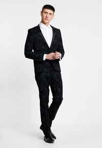 Twisted Tailor - VICTORY SUIT  - Oblek - charcoal - 0