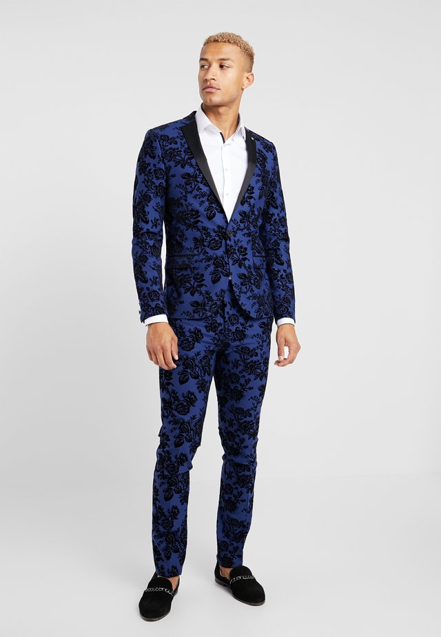 HYENA SUIT SKINNY FIT EXCLUSIVE - Suit - navy