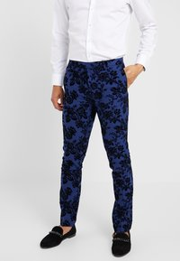 Twisted Tailor - HYENA SUIT SKINNY FIT EXCLUSIVE - Garnitur - navy - 4