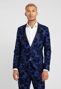Twisted Tailor - HYENA SUIT SKINNY FIT EXCLUSIVE - Garnitur - navy - 2