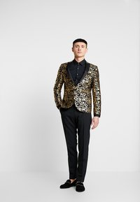 Twisted Tailor - CARACAL JACKET EXCLUSIVE - Giacca - gold - 1