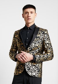 Twisted Tailor - CARACAL JACKET EXCLUSIVE - Giacca - gold - 0
