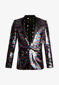 Twisted Tailor - LIQUORICE JACKET EXCLUSIVE PRIDE - Giacca - rainbow - 4