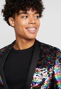 Twisted Tailor - LIQUORICE JACKET EXCLUSIVE PRIDE - Giacca - rainbow - 5