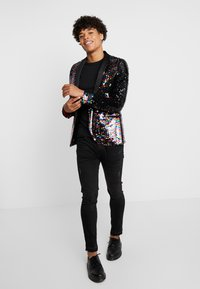 Twisted Tailor - LIQUORICE JACKET EXCLUSIVE PRIDE - Giacca - rainbow - 1